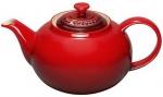 Чайник заварочный 1,0 л, бордовый, керамика, Le Creuset, Франция